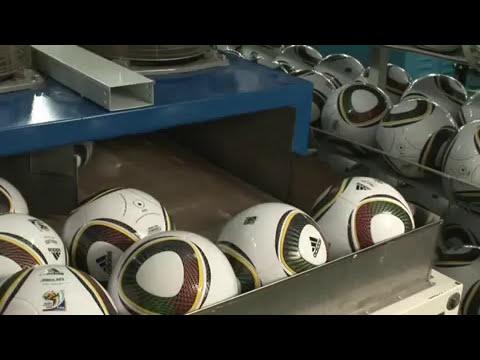 Cómo se fabrica Jabulani, el balón del Mundial