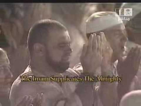Makkah Taraweeh-(night 14)-witr & Dua-e-qunoot Sheikh Kalbani video