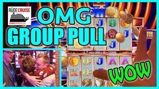 🛳🎰 OMG Amazing 500xBet GROUP PULL JACKPOT! ➡ Aboard the 'RUDIES' Princess!🎉💰 ✦ BC Slot Cruise