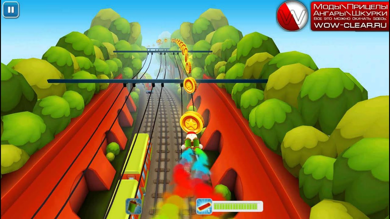 Subway surfers online game on computer