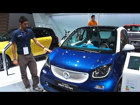 smart fortwo al salone di Parigi 2014