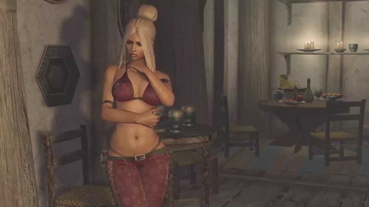skyrim how to change custom follower body to nude
