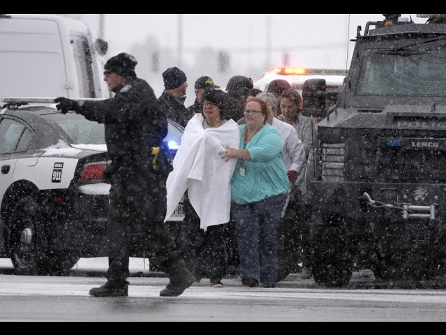 Gunman captured after hours-long siege at Planned Parenthood