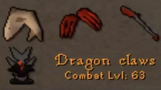 Lvl 63 Dragon Claws Pking OSRS Low Level Pure