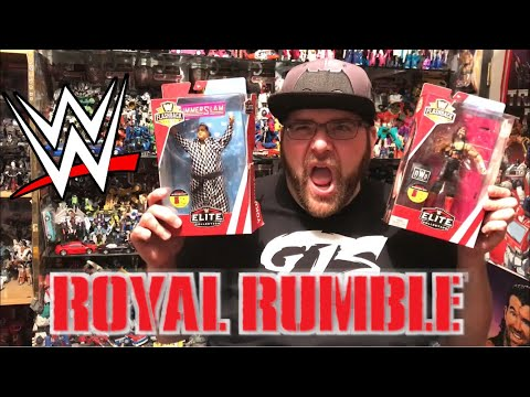 GOT ROYAL RUMBLE TICKETS! NEW WWE FIGURES! GTS REGAL RUMBLE UPDATE!