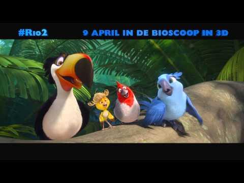 Rio 2 Clip 'Family Event 15 sec' (Nederlands gesproken) - 9 april in de bioscoop in 3D