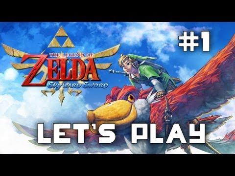 Let's Play The Legend Of Zelda Skyward Sword: Episode 1 video