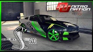 Nitro Nation: Personalizando Shelby GT 500 Gratis