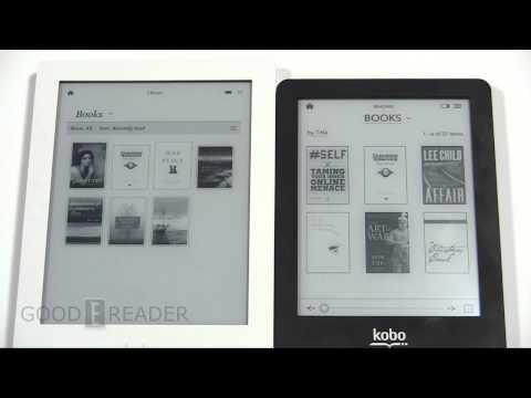 Kobo Aura HD vs Kobo Glo