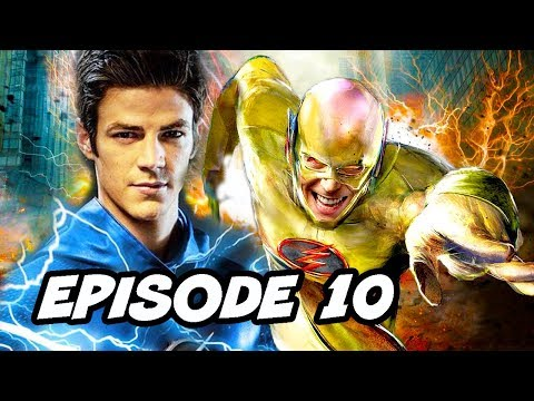 The Flash Season 5 Episode 10 Reverse Flash TOP 10 WTF and Easter Eggs