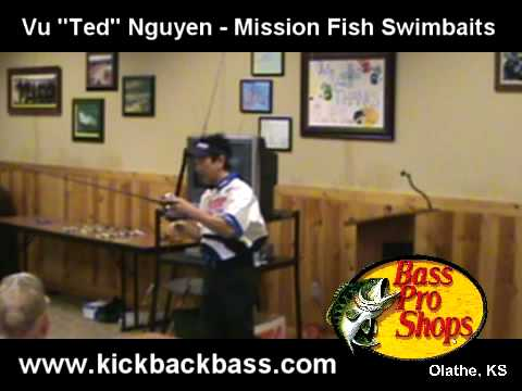 Mission Fish Swimbaits Tips - Ted Nguyen