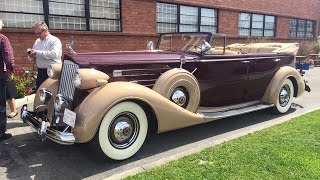 Riding In A 1937 Packard V12