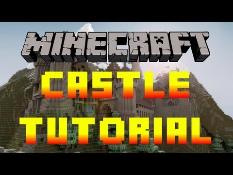 Minecraft Tutorial Of How To Build A Nice Big Mansion Part | Auto ...