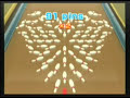 Wii Sports: Automatic 91pin strike.