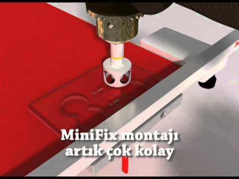 MiniFix Sablonu (minifix jig)