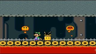 Super Mario World The Secret of the 7 Golden Statues 100% WORLD 1