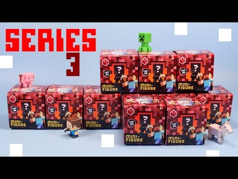 Minecraft Mini-Figure Netherrack Series 3 Collection Review & Codes