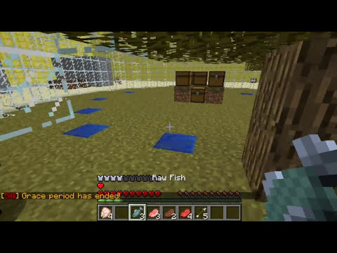 Minecraft Bukkit Plugin - Survival games - Super fun pvp mini game
