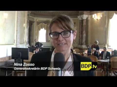 BDP Videonews Herbstsession 2014 mit Abschied Ursula Haller