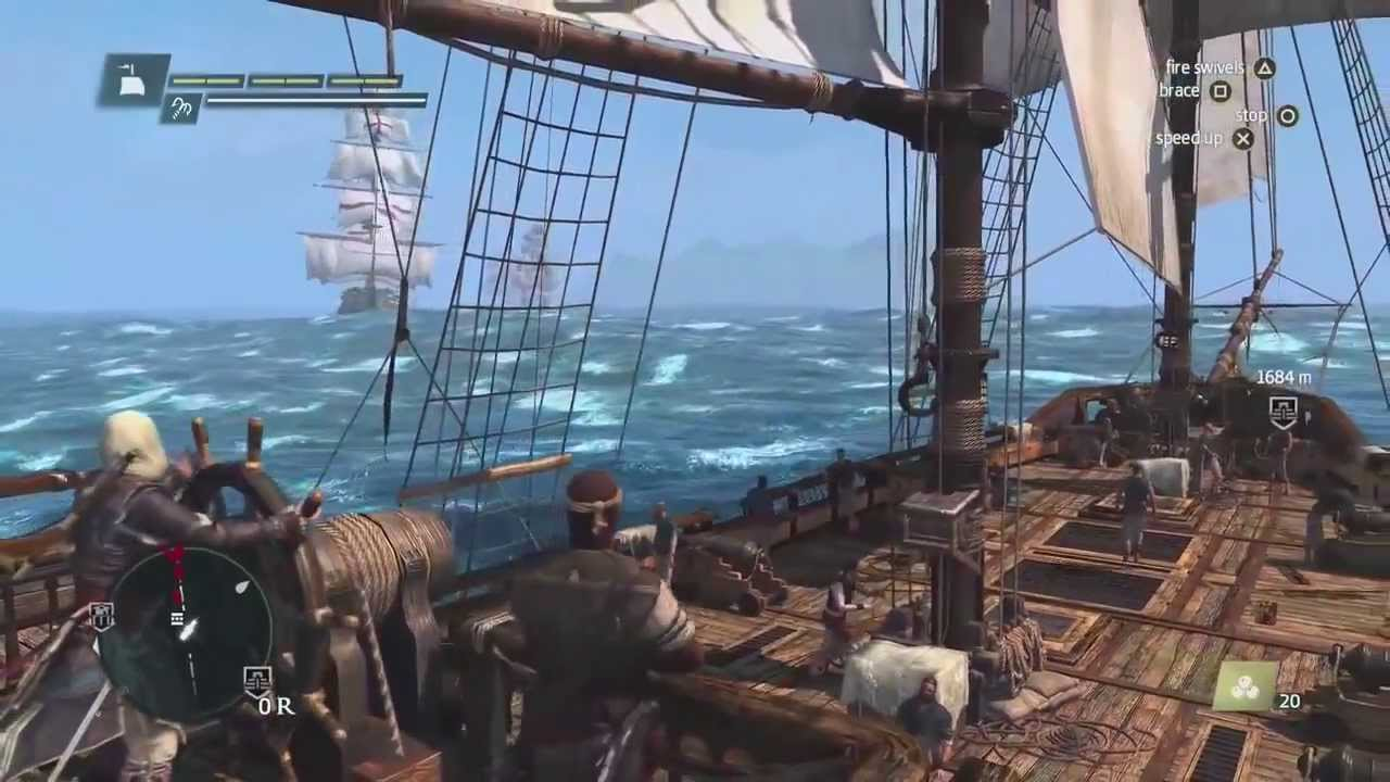Assassin's Creed IV Black Flag BUCCANEER EDITION gameplay ...