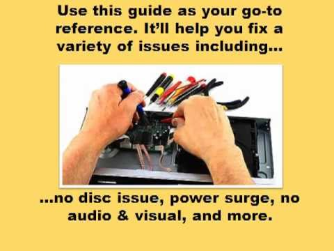 DVD Player Repair Guide -- Covers Every Detail