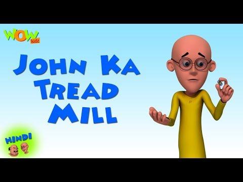 John Ka Tread Mill - Motu Patlu in Hindi - 3D Animation Cartoon - As on Nickelodeon thumbnail