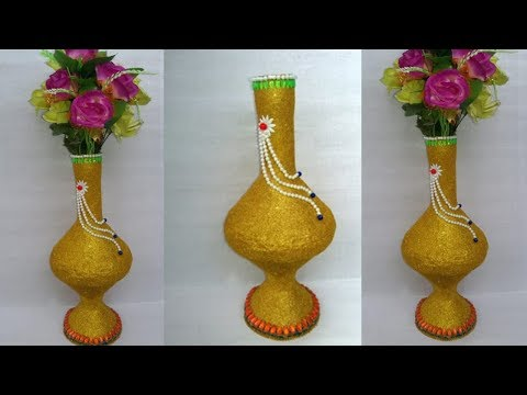 Download How To Make Flower Vase With Plastic Bottle Plastic