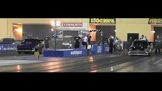 AEROFLOW OUTLAW NITRO FUNNY CARS AT SYDNEY DRAGWAY 19.12.2014