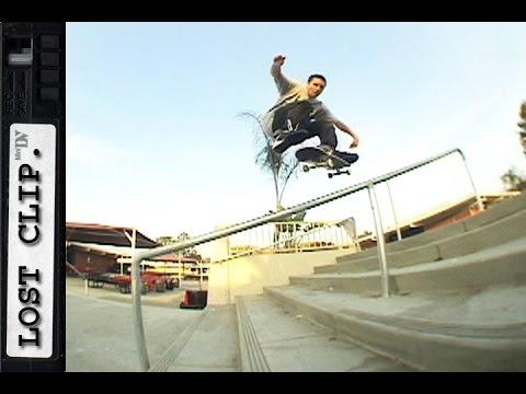 Andrew Allen Lost & Found Skateboarding Clip #145