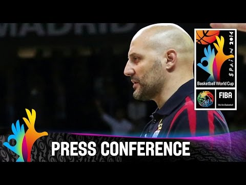Serbia - Final Pre-Game Press Conference - 2014 FIBA Basketball World Cup