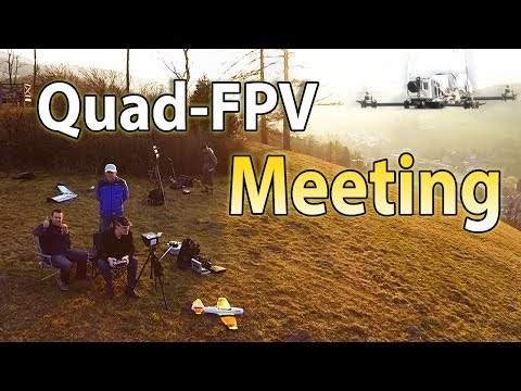 FPV Meeting Hover82 und Poeli1   Multicopter and Zephyr 2 till Sunset