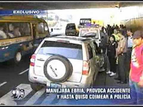 Peru.com: Mujer ebria quiso sobornar a policía