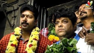 Jayam Ravi offers prayers to Shani Bhagwan at Thirunallar | Next Movie