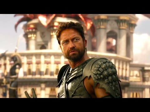 Gods of Egypt | official trailer UK (2016) Gerard Butler