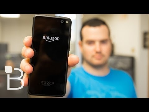 Fire Phone Initial Thoughts - Not What We Were Expecting