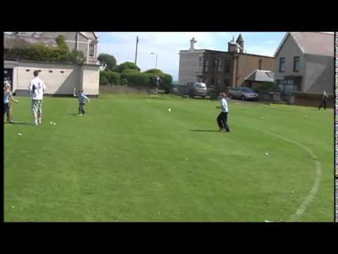 Highlights and interviews from the Larne Cricket Club Kwik Cricket event at Sandy Bay, Larne.