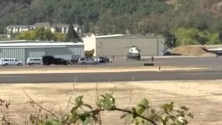 Obama landing in Roseburg Oregon #UCCSTRONG