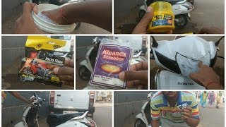 How to Wash,Protect and Maintain a vehicle | Honda Activa 3g