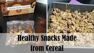 HEALTHY SNACK IDEAS MADE FROM CEREAL