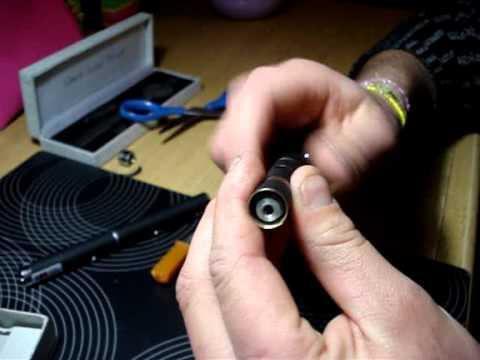 modificare penna laser verde da 5 a 200 mw