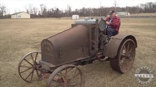Unbelievable Original - 1917 International Harvester Model 8-16 - Classic Tractor