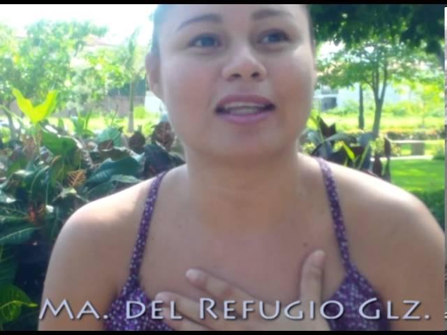 """Testimonio de Ma. del Refugio Glz para Ernesto Guerra sobre el Taller """"Al Sanar Yo Sanan Todos"""""""