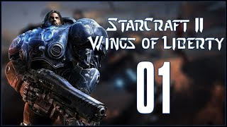 LIBERATION DAY - StarCraft II: Wings of Liberty - Ep.01!