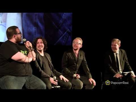 Edgar Wright, Nick Frost and Simon Pegg: on pranking Martin Freeman
