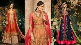 Latest Designer Long Party Wear kurti Long Dress Fancy Long Suit For women's,Girl TrendyIndia 5