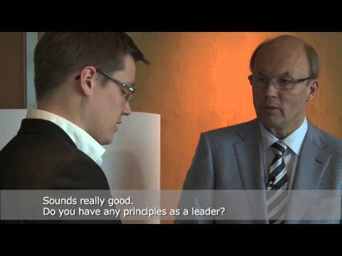 Exclusive interview with Matti Alahuhta, CEO of Kone Corporation (subtitled)