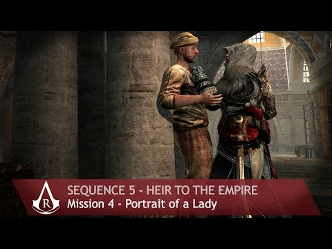 Assassin's Creed: Revelations - Sequence 5 - Mission 4 - Portrait of a Lady (100 % Sync)