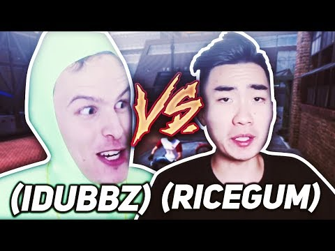RICEGUM VS iDUBBBZ AT THE PARK ▪ RICEGUMS A DRIBBLE GOD + CANT MISS 99+ OVERALL 3 POINTER ▪ NBA 2K18