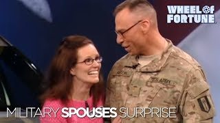 Wheel of Fortune: Military Spouses Surprise!