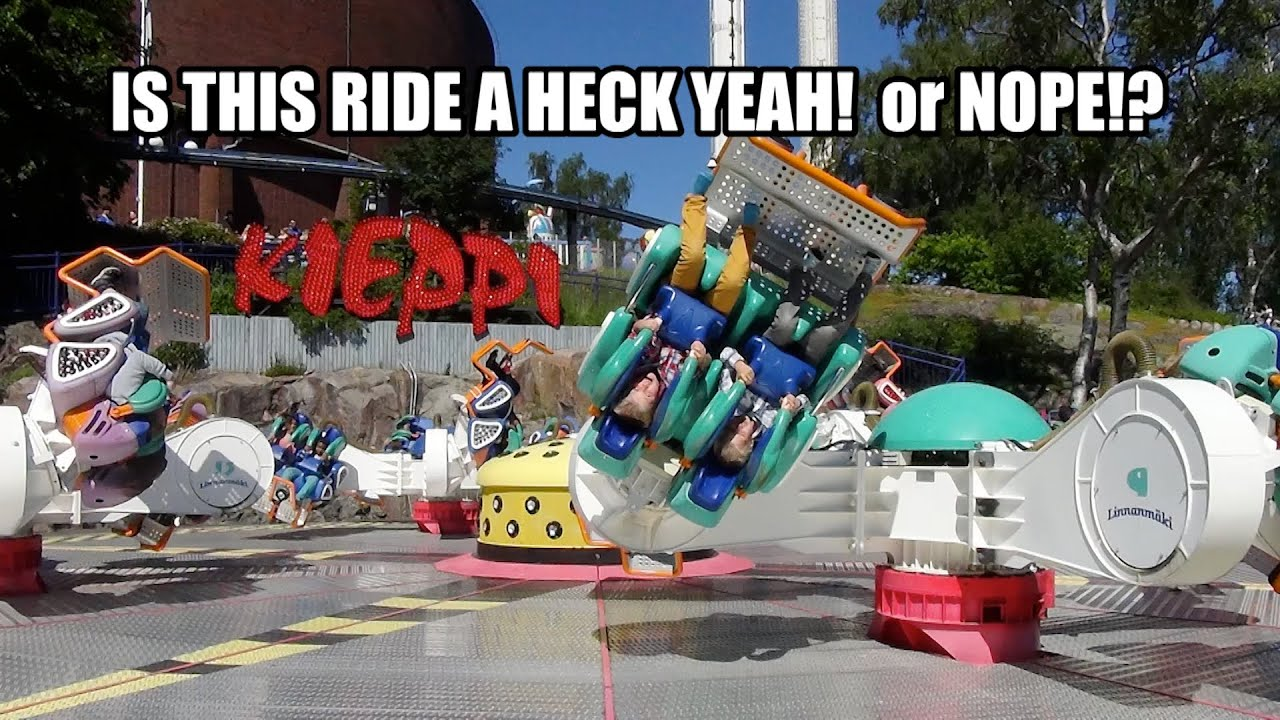 This Ride Seems Designed To Make You Puke
